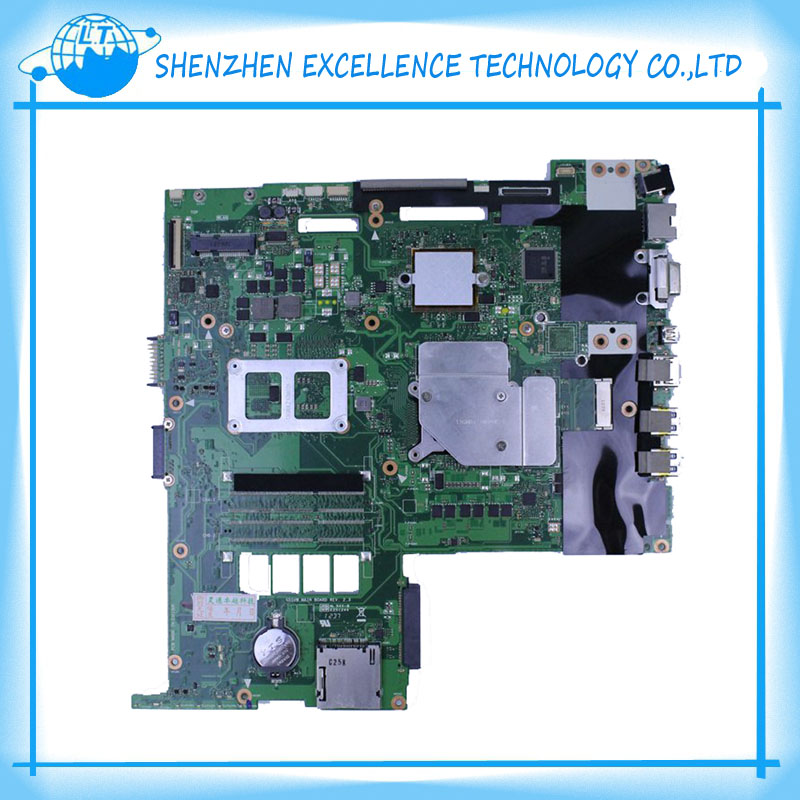 G55VW laptop motherboard for asus with 2 RAM SLOT 100% functional free shipping