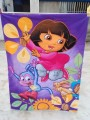 Bedding product Girl baby quilt Dora monkey cartoon Children quilt blanket