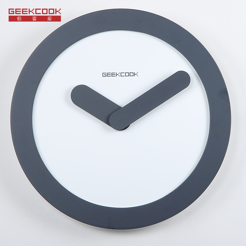 Creative simple wood wall clock modern design digital diy for Creative simple
