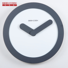 Creative simple wood wall clock modern design Digital diy wall clocks bedroom wall clock clocks for home Wedding decoration