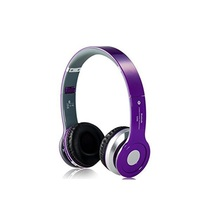 Classic HD Bluetooth 4.0+EDR stereo wireless headphone Mic Hands-free Calling FM Radio/ TF Cared with 3.5mm Audio Cable