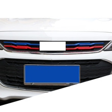 Lsrtw2017 Abs Car Middle Net Front Grill Strip Trims for Chevrolet Cavalier 2017 2018 2019 2020