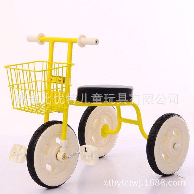 Simplee tricycle enfant avec guidon arrière réglable, pratique bébé vélo enfant marcheur avec cadre en acier l enfants marcheur voiture - 2