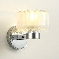 Современный минималистский гостиной настенный светильник Nordic творческая личность круглая стеклянная спальня прикроватные бра AP8231401