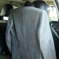coat suit 1Pcs Car Coat Hanger Chrome Metal Car Seat Headrest Coat Rack Jacket Suit Clothes Hanger Multifunction Car Device (4)
