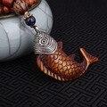 Moda peces evadir la paz collar étnico, collar de la joyería de Nepal, sándalos colgantes vintage collar