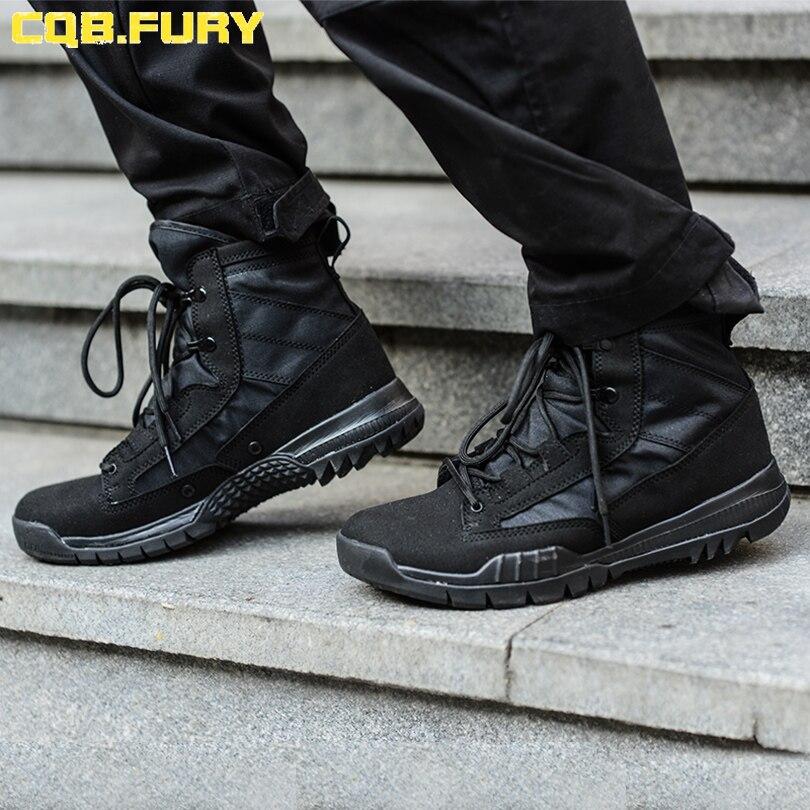 46 Militaire Noir Size38 025zb Fury Light De Cqb Zd Super Tactique Chaussures Combat Courroie Respirant Bottes D'été L'armée Mens Cheville CgwfX4Xq