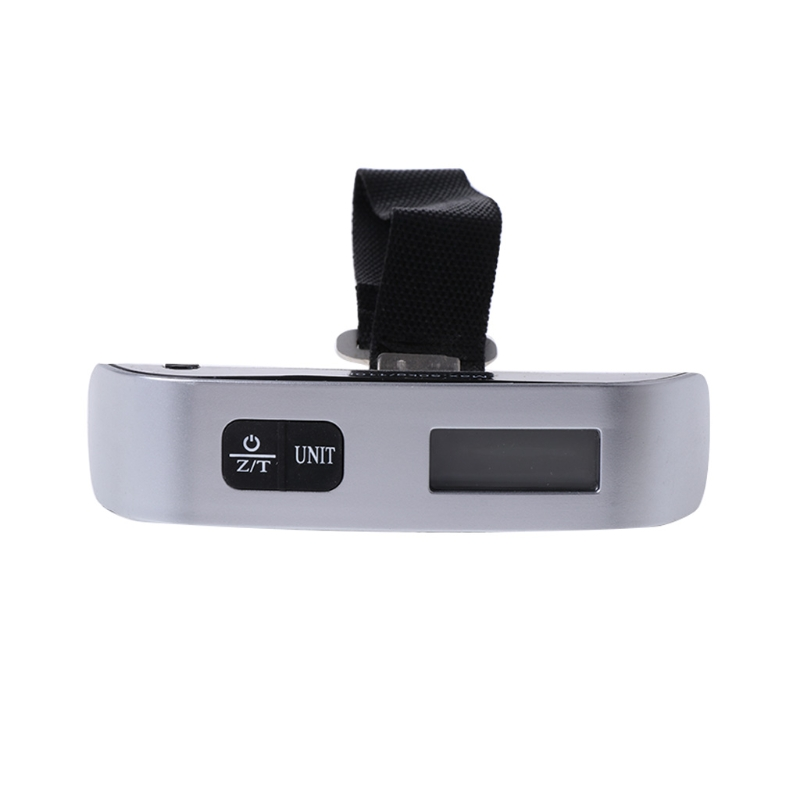 New 50kg 10g Portable LCD Digital Hanging Luggage Scale Travel font b Electronic b font Weight