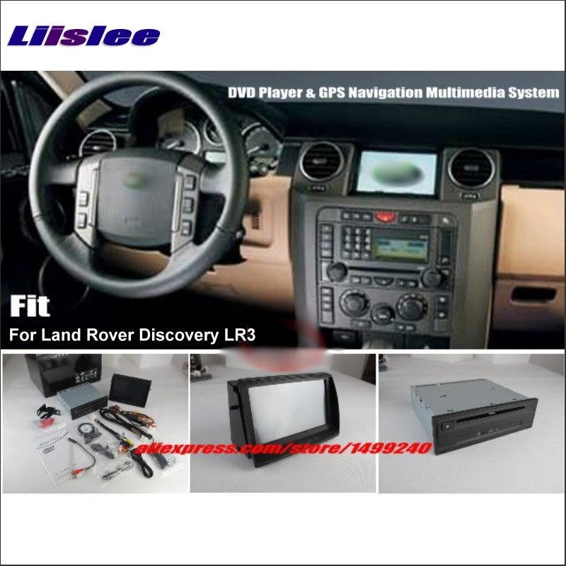 Liislee For Land For Rover Discovery 3 LR3 Stereo DVD-speler GPS Nav - Auto-elektronica