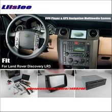 "Liislee For Land For Rover Discovery 3 LR3 Stereo DVD Player GPS Nav Navigation System 8"" HD Touch Screen Bluetooth iPod AUX USB"