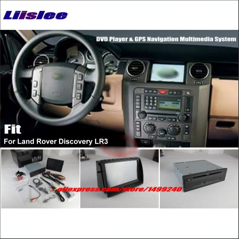 Liislee For Land Rover Discovery 3 LR3 Stereo DVD Player & GPS Nav Navigation System + 8 HD Touch Screen Bluetooth iPod AUX USB our discovery island 4 dvd