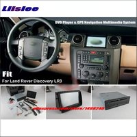 Liislee For Land Rover Discovery 3 LR3 Stereo DVD Player & GPS Nav Navigation System + 8 HD Touch Screen Bluetooth iPod AUX USB