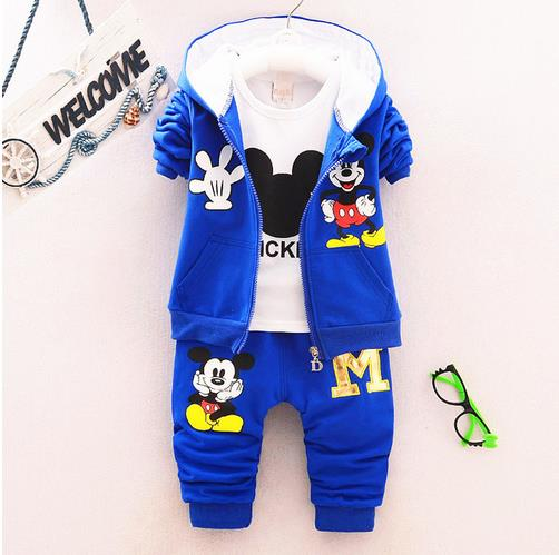 Children sports suit boys clothes set 1-5year 2017 spring & autumn children's clothing suits hoodies +T-shirt +pants 3pcs spring autumn children s clothing suits kids sweatshirts pants children sports suit boys clothes set retail toddler leisure