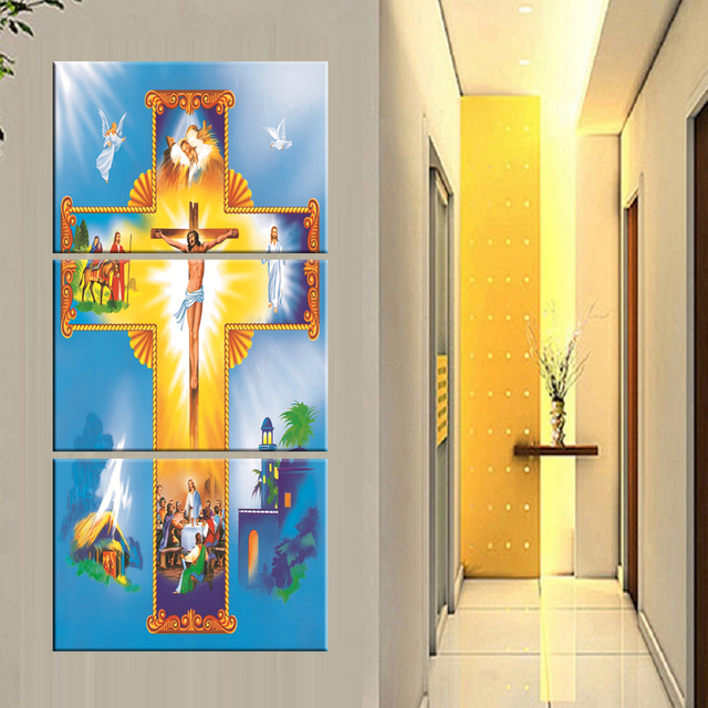 Abstract Cross Painting On Canvas Christian Cross Art Cross Canvas Christian Painting Best