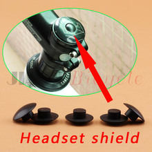 10pcs The bicycle bowl set cover Screw cap Bicycle head Heighten device  M6 Screw cap MTB Road bike Folding bicycle Track Bike  bicycle fork washer 28 6mm bicycle bowl set the bike front mtb road bike fixed gear track bike headsets accessories equipment