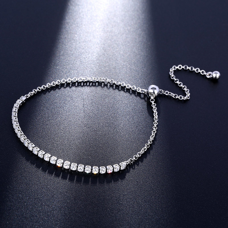 2018 Sale Fashion jewelry crystal heart charm bracelet Crystals from Swarovski for women's gift