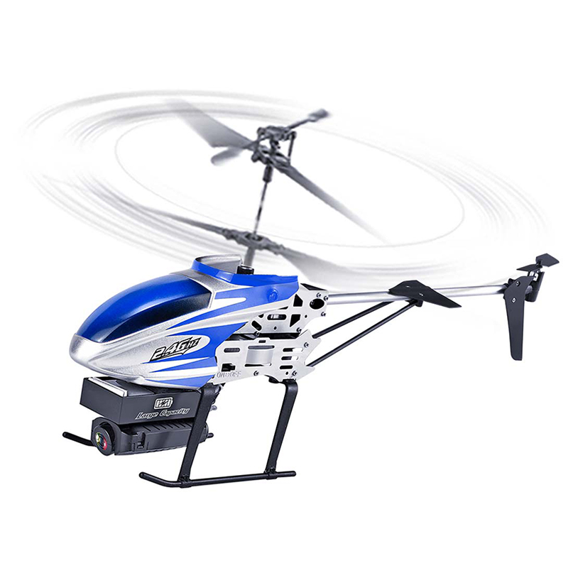 KY808 2.4G 4CH 6 Aixs Hover Altitude Hold Wifi APP Control RC Helicopter With HD Camera Outdoor ToysKY808 2.4G 4CH 6 Aixs Hover Altitude Hold Wifi APP Control RC Helicopter With HD Camera Outdoor Toys