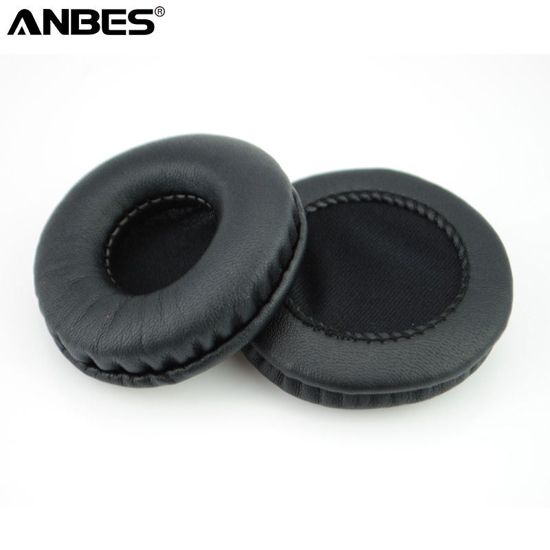 1 Pair Durable Soft Foam Ear Cushions Earpads Cover 65mm Black Replacement Ear Pads for Headphones Headset High Quality Hot