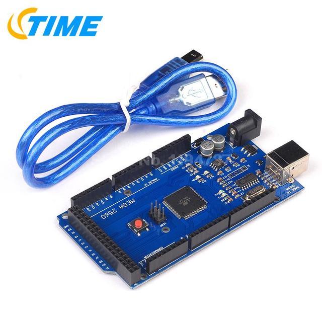 1 КОМПЛ. Mega 2560 R3 Mega2560 R3 Совет ПО USB Кабель, совместимый для arduino