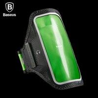 Baseus Caso Armband Para iPhone 7 6 6 s Mais Caso Do Esporte de Corrida na Mão Para Samsung Xiaomi Caso Saco Faixa de Braço Telefone S8 Plus