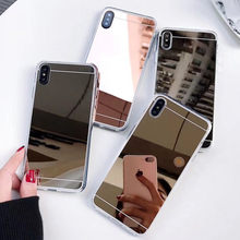Espejo caso para Xiaomi Redmi Nota 8 Pro 8T 8A teléfono móvil F1 caso Xiomi Mi 9T 10 9 8 Lite 7 6 6A 5A K20 A2 A1 5 Plus