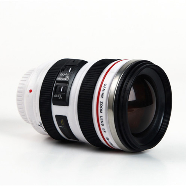 400 ml Unique Camera Lens Drinking Glass 5