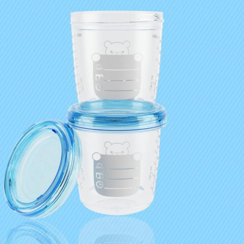 1pcs Rotary Milk Powder Box Safety Storage Box Container Product Portable Milk Powder Tank Baby Food Storage