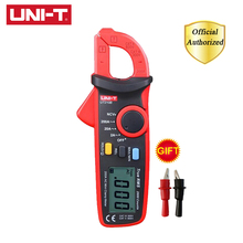 UNI-T UT210B True RMS Mini Digital Clamp Meters 200A AC Ammeter NCV Test Professional Multimeter with LCD Backlight MAX MIN цены