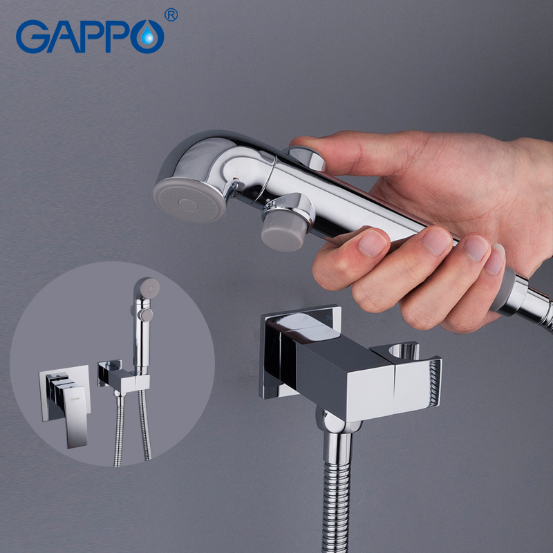 GAPPO Bidets bathroom toilet anal shower cleaning bidet toilet sprayer wall mount muslim shower bidet faucet gappo bidet faucet white toilet shower bidet hand shower faucet muslim shower toilet wall mount sprayer faucet bidet tap mixer