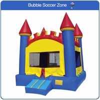 Free Shipping Kids Castle Bouncer Children Bouncer House Castle Inflatable Castle Inflatable Bouncer Free A Blower