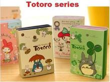 New Fashion Japan Totoro series Notepad Sticky note Note Memo Pads Writing scratch pad Stationery school