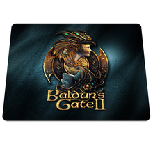 New arrival Baldur s Gate Background Printing Pattern Soft Silicone Desktop Computer Mouse Mat Gaming Anti-slip Mouse Pads