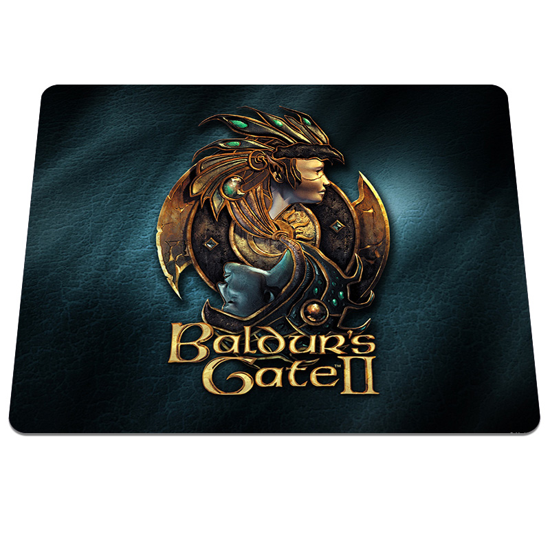 New arrival Baldur s Gate Background Printing Pattern Soft Silicone Desktop Computer Mou ...