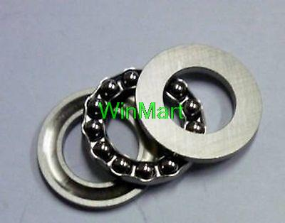 OD ID x 24mm 10 pieces 10mm Thrust Needle Roller Bearing With Two Washers Each