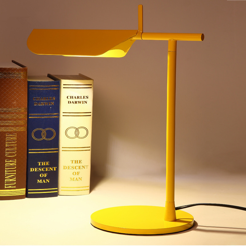 New Novel Led Table Lamp 380mm Modern Industrial lamp Loft table lamp for reading Study desk lighting Bedside lamp Night Light yage desk lamp book reading night light colorful lamp for study non limit brightness 34pcs led 3 modes lamp eu usa uk plug