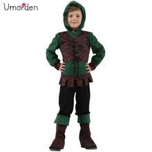 Umorden детский средневековый archer hunter robin hood Костюм
