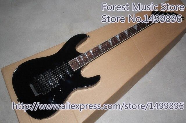 Heißer verkauf glänzend schwarz jackson sl1 elektrische guitars drei ...