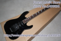 Hot Selling Glossy Black Jackson SL1 Electric Guitars Three Pickups & Black Floyd Rose Tremolo For Sale