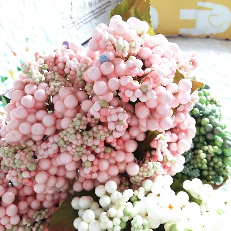 Aliexpress Buy Denisfen Artificial Fake Berry Bouquet