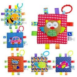 6 stil Neugeborenen Baby Beschwichtigen Handtuch Greifen Weiche Tröstlich Puppe Infant Spielzeug baby Hand Handtuch Rassel Spielzeug SA974548
