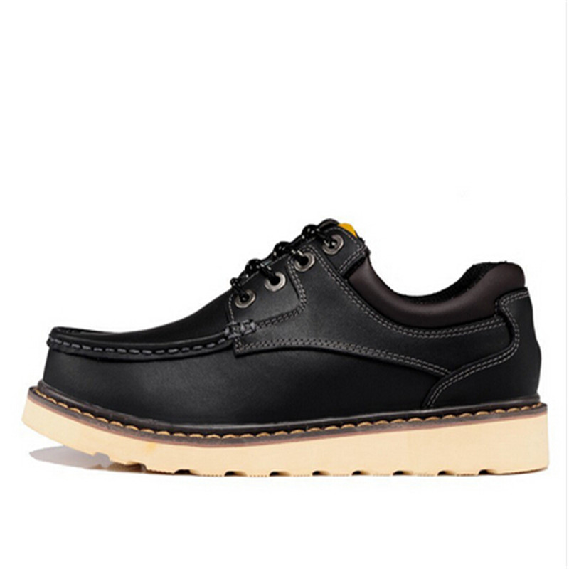 ФОТО 2016 NEW Fashion Genuine Leather Men Shoes, Casual Shoes Men Leather Shoes, Flat Tooling Shoes Male Black Brown 45 46