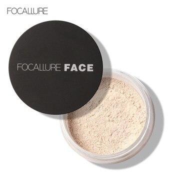FOCALLURE Brand Powder Professional Makeup Loose Powder Matte Face Long Lasting Whitening Skin Finish Transparent Powder 1