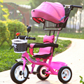 Fashion New Arrivals Baby Stroller 3 in 1 Portable Fun Toy Umbrella Baby Car Multifunctional 1-6 years old Baby Tricycle