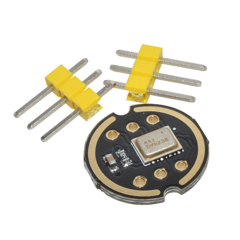 US $3 8 |INMP441 Omnidirectional Microphone Module I2S Interface MEMS High  Precision Low Power Ultra small volume for ESP32 -in DAC from Consumer