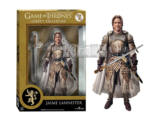 Game of Thrones Jaime Lannister 15CM High Classic Movable Action Figure Toys