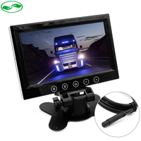 HD Digital Screen 800 480 7 Inch Car Monitor TFT Color LCD Auto Headrest Monitor With