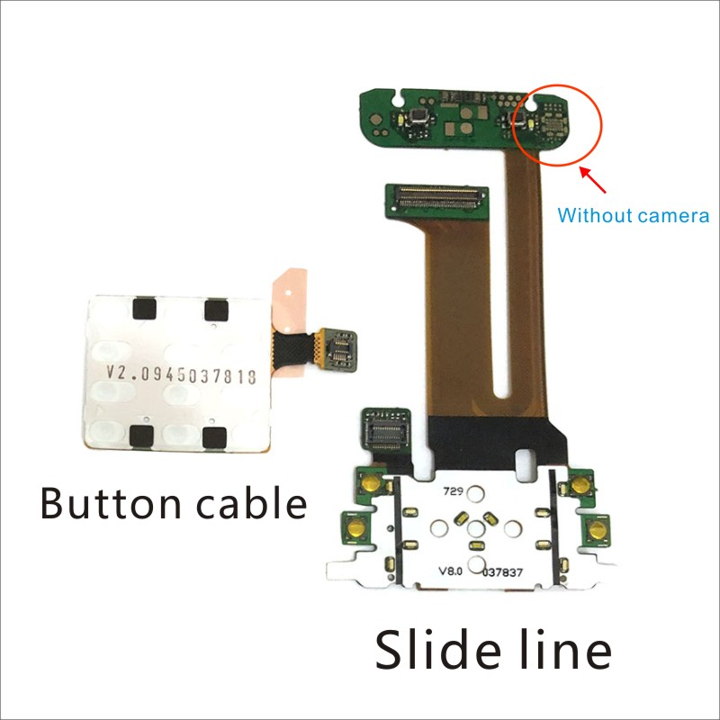For Nokia N81 LCD Screen Connector Flex Ribbon Cable Board Replacement Parts Flex Cable N81 Button Cable
