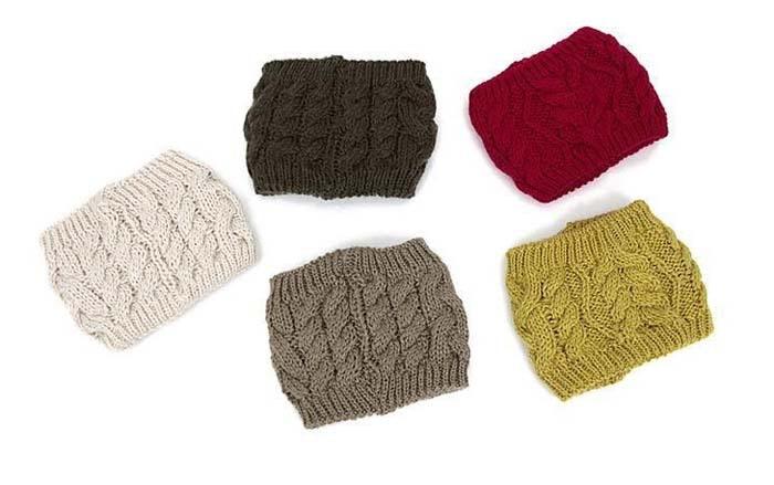 2014 nuevo sólido mujeres serratula punto headwrap hombres tejido de ...