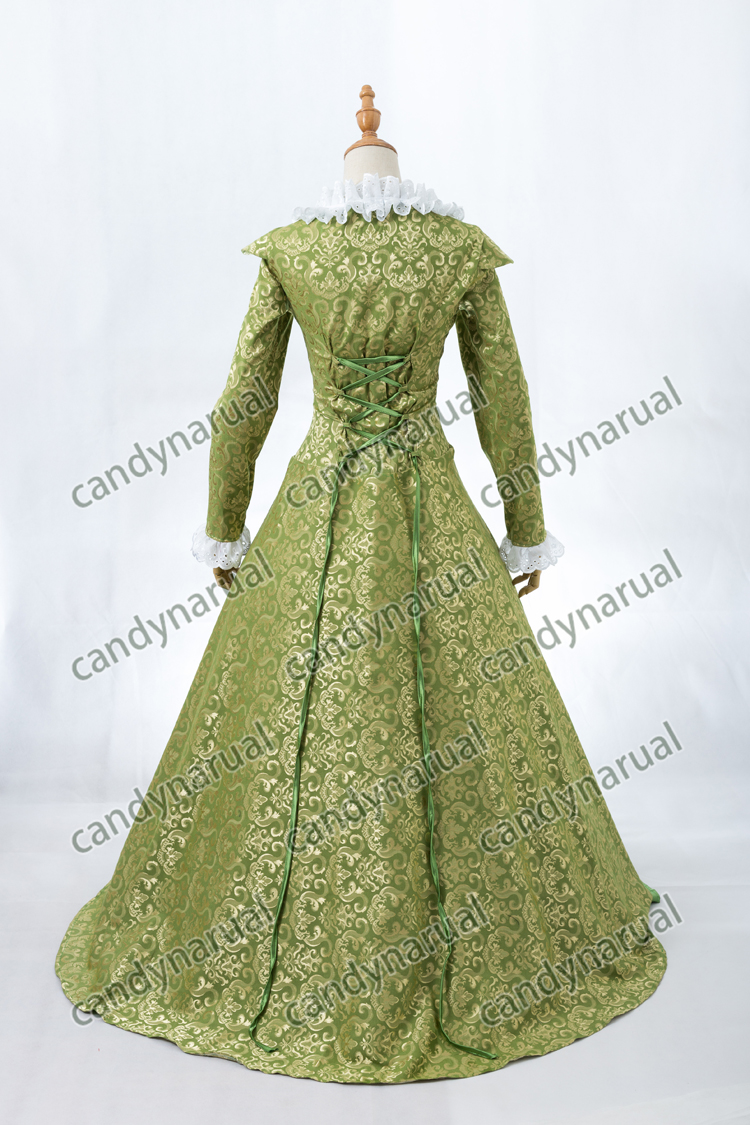 ZNCJ Long Medieval Princess Costumes Medieval Renaissance Gown Victorian  Belle Ball Lolita Dress-in Lolita Dresses from Novelty   Special Use on ... c91a944a4882