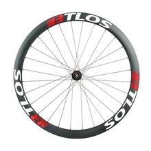 road disc carbon wheels 40mm depth 29mm width gravel bike - WGX40